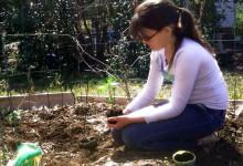 Jaden -- gardening