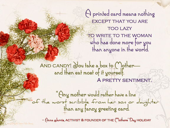 Mothers' Day posters to share